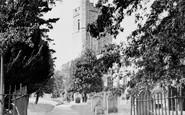 Cheshunt, St Mary's Church c.1955