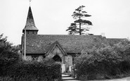 Chessington, Church of St Mary the Virgin 1952