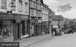 Chessington, Gilders Road, Shops 1952