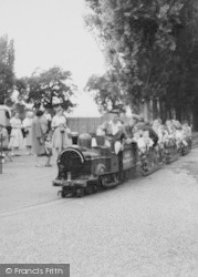 Chessington, Zoo, Riding The Miniature Railway c.1965