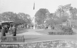 Chessington, Zoo, The Boating Lake c.1955