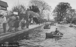 Chessington, Zoo, The Boating Lake c.1965