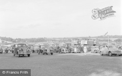 Chessington, Zoo, The Car Park 1952