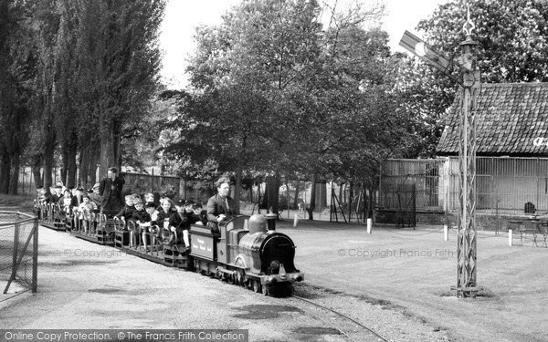 Chessington, Zoo, The Train c.1965