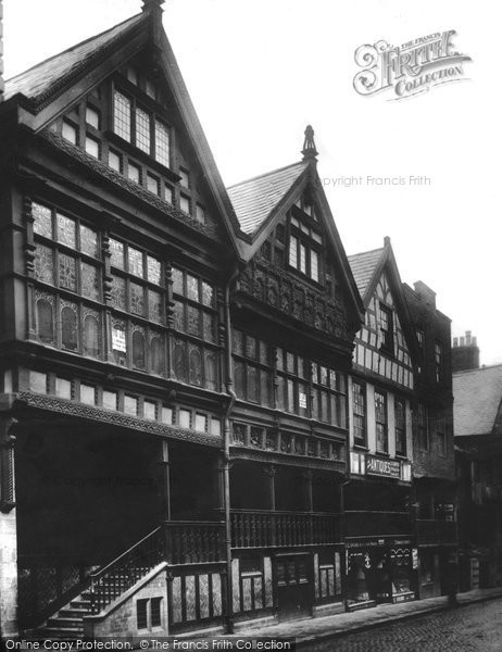 Photo of Chester, Bishop Lloyd's Palace 1913