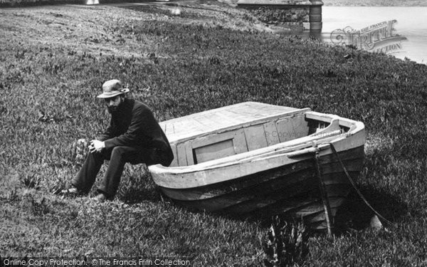 Photo of Chester, Boatman 1888