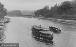 Chester, Boats On The River Dee 1923