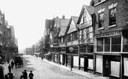 Chester, Bridge Street 1888