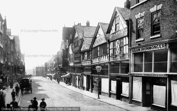 Photo of Chester, Bridge Street 1888