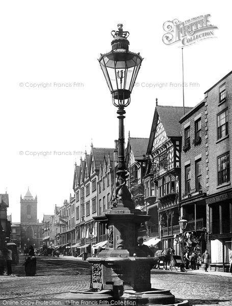 Photo of Chester, Bridge Street 1891
