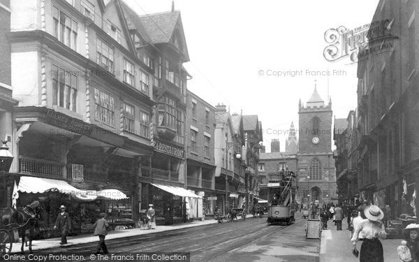 Photo of Chester, Bridge Street 1903