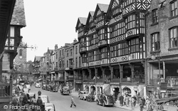 Chester, Bridge Street 1949
