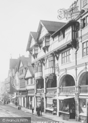 Chester, Bridge Street Businesses 1895