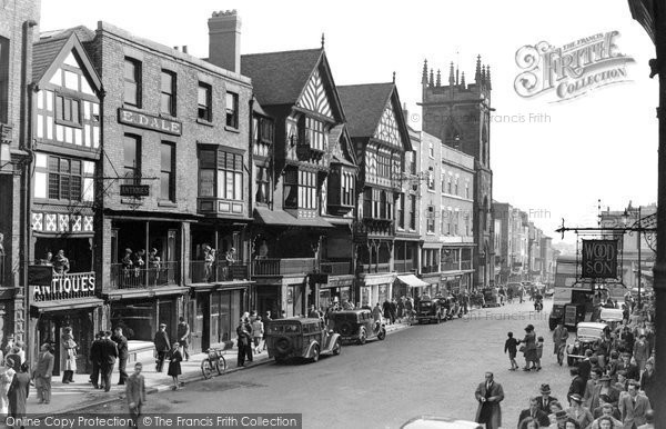 Photo of Chester, Bridge Street c1950, ref. C82062