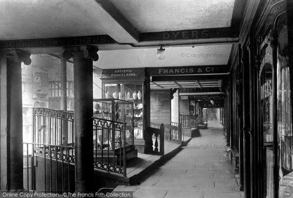 Photo of Chester, Bridge Street Row c1930, ref. C82039