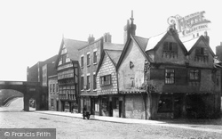Chester, Bridge Street, The Ship Inn 1888