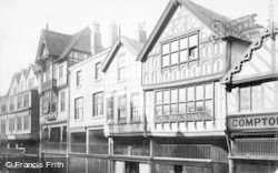 Chester, Bridge Street, Ye Olde Crypt 1891