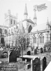 Chester, Cathedral 1891