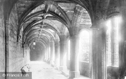 Chester, Cathedral, Arcading In Cloisters 1895