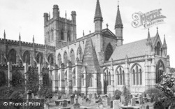 Chester, Cathedral c.1875