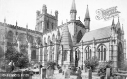 Chester, Cathedral c.1880