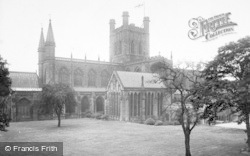 Chester, Cathedral, North Side 1923