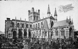 Chester, Cathedral South East c.1877