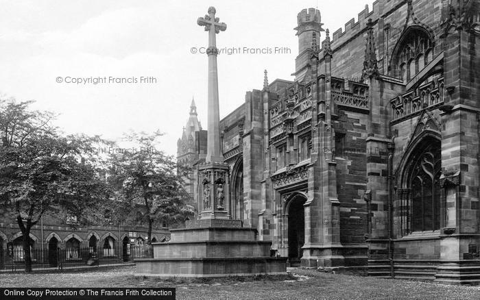 Photo of Chester, Cathedral, War Memorial 1923