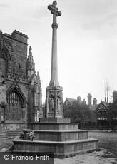 Chester, Cathedral, War Memorial 1923