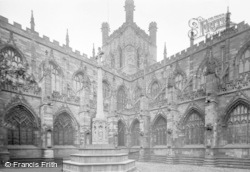 Chester, Cathedtral And War Memorial 1923