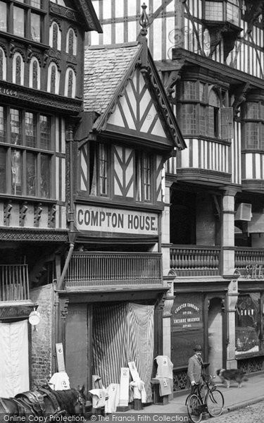 Photo of Chester, Compton House 1895