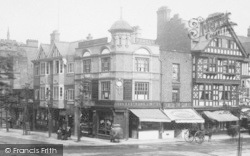Chester, Corner Of Northgate And St Werburgh Streets 1903
