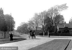 Chester, Curzon Park West 1906