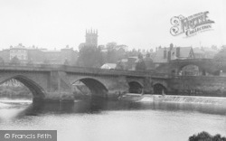 Chester, Dee Bridge And Bridgegate 1923