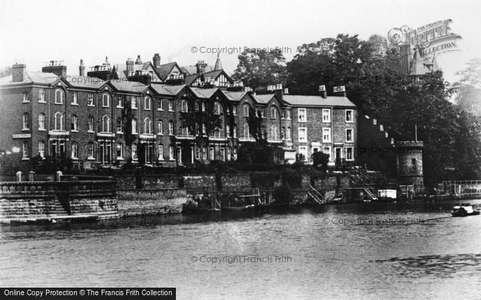 Photo of Chester, Deva Terrace c.1930