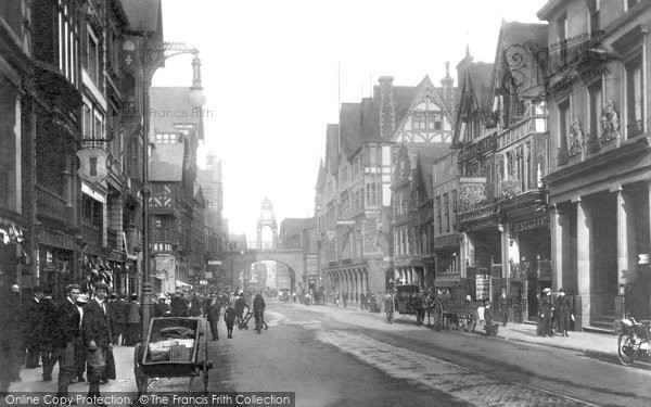 Photo of Chester, Eastgate 1900, ref. 46215
