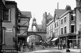 Chester, Eastgate 1900