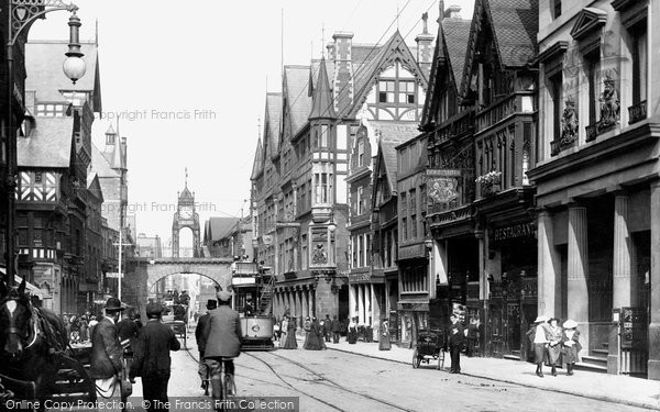 Photo of Chester, Eastgate 1903