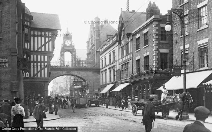 Photo of Chester, Eastgate 1903, ref. 49887