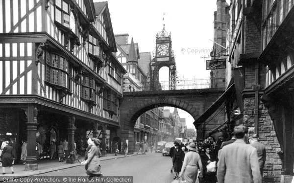 Photo of Chester, Eastgate 1949