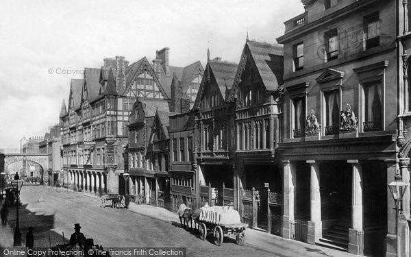 Photo of Chester, Eastgate Street 1888