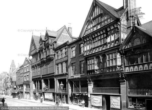 Photo of Chester, Eastgate Street 1891