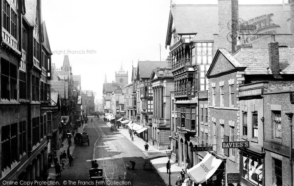 Photo of Chester, Eastgate Street 1895