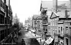 Chester, Eastgate Street 1895