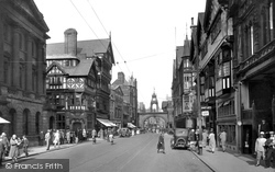 Chester, Eastgate Street 1929
