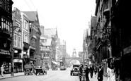 Chester, Eastgate Street c1929