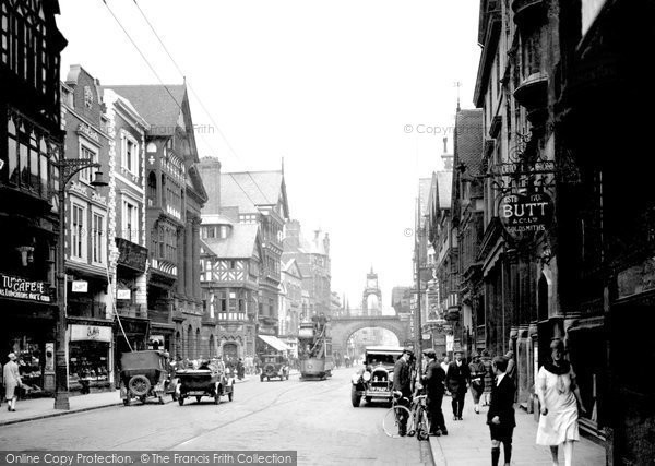 Photo of Chester, Eastgate Street c1929