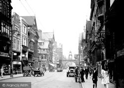 Chester, Eastgate Street c.1929