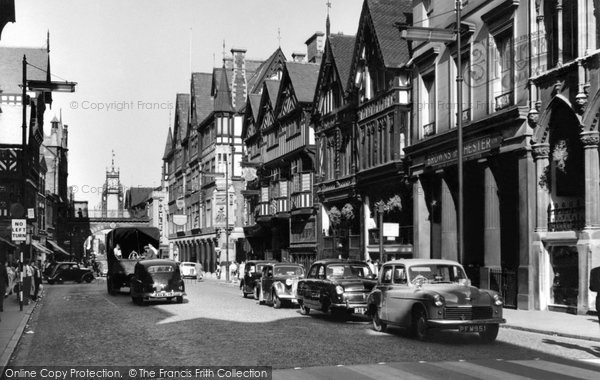 Photo of Chester, Eastgate Street c.1960