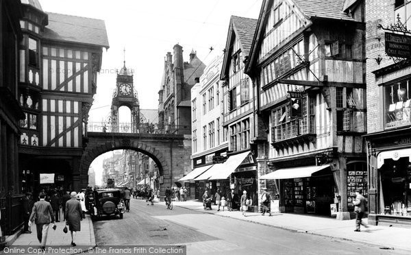 Photo of Chester, Foregate Street 1929, ref. 82748